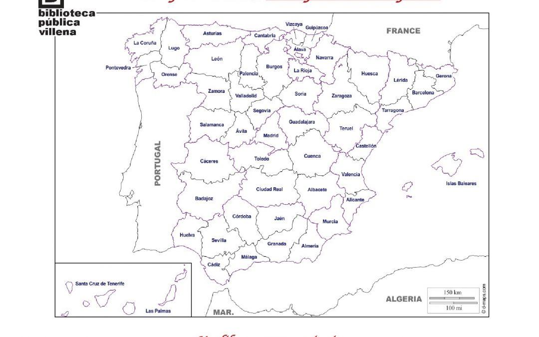 Empezamos año con un Reto Lector :  leer por toda España