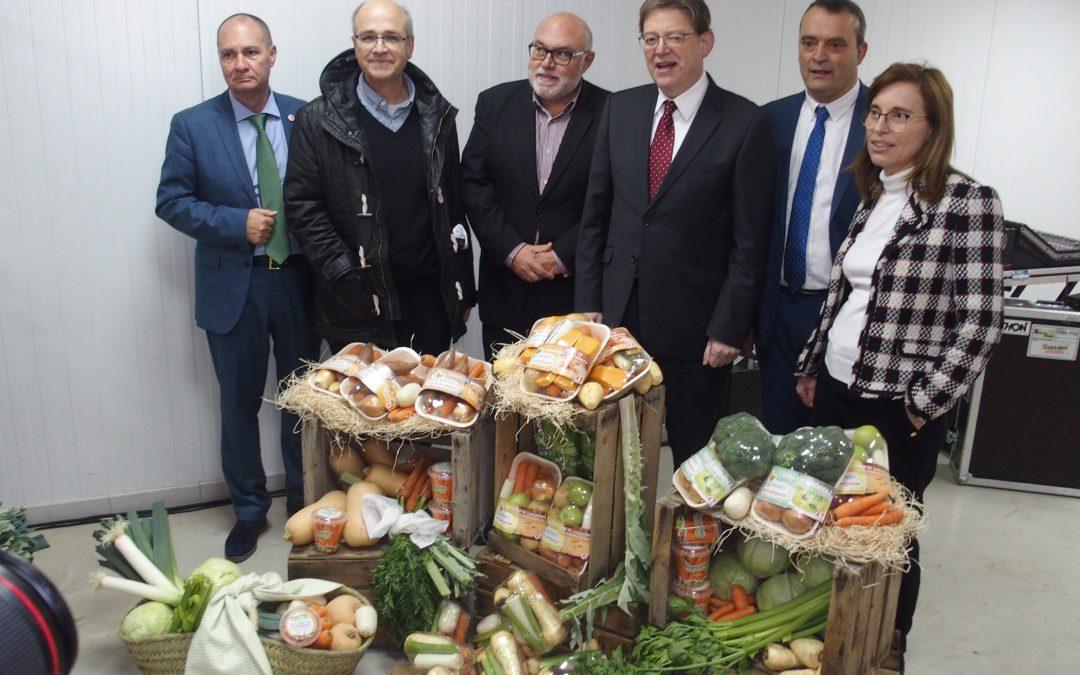 El President de la Generalitat Valenciana visita Agrícola Villena
