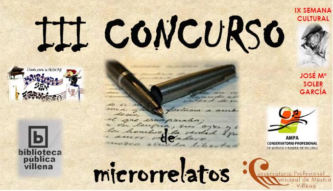 III Concurso Microrrelatos
