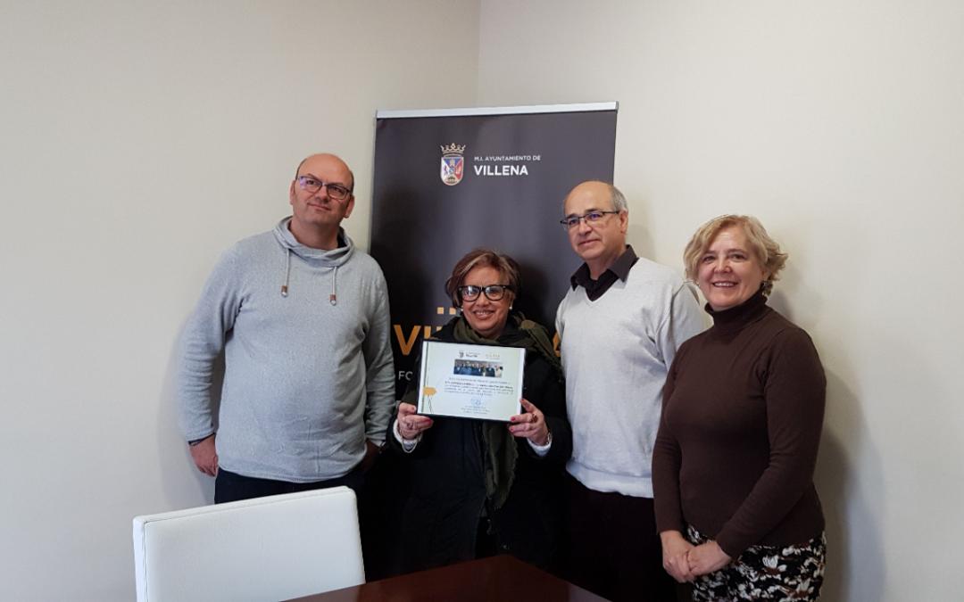 El ayuntamiento despide a Rita Céspedes como presidenta de la UDP con un merecido homenaje