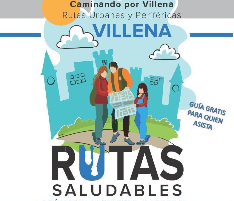 Presentación pública Guía Rutas Saludables por Villena