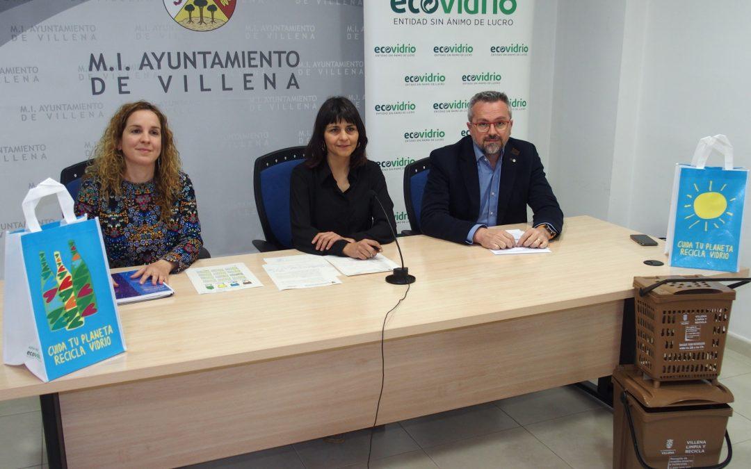 Ecovidrio impulsa el reciclaje de vidrio entre los establecimientos hosteleros de Villena