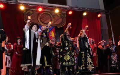 Los Reyes Católicos abren las Fiestas del Medievo en Villena