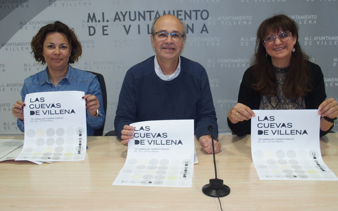 Jornadas de sensibilización para conocer las cuevas de Villena