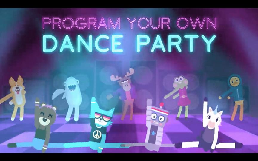 """TALLER PARA NIÑOS Y NIÑAS """"DIVIÉRTETE PROGRAMANDO CON DANCE PARTY"""""""