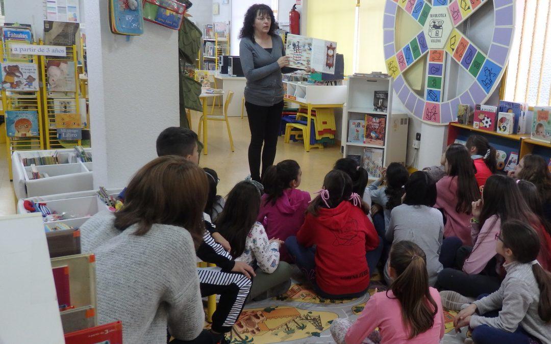 Los alumnos y alumnas de 5º de primaria se estrenan en nuestra Triviblioteca.