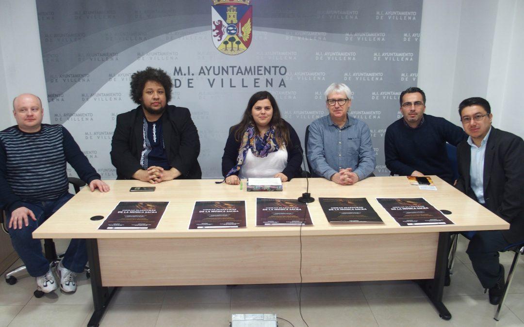 Villena culmina el concurso internacional de música sacra con un concierto en Santa María