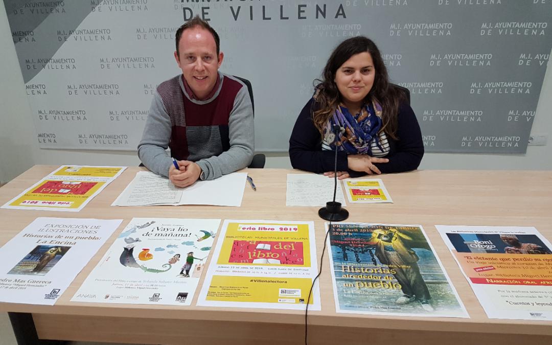 Libros y literatura inundan Villena