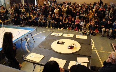 Más de 1.000 estudiantes participan en Villenabot 2019