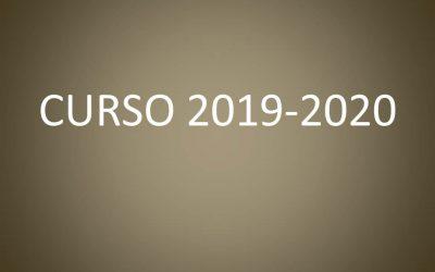 INFORMACIÓN ALUMNOS NUEVO INGRESO CURSO 2019-2020