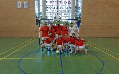 Cafetería Melecio y Leñas Chimo/Toni Pardo vencedores de la liga local de fútbol sala