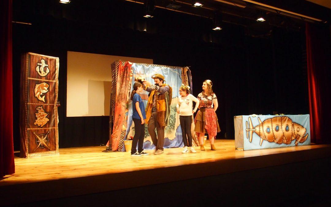 Teatro escolar en Inglés en la Kakv