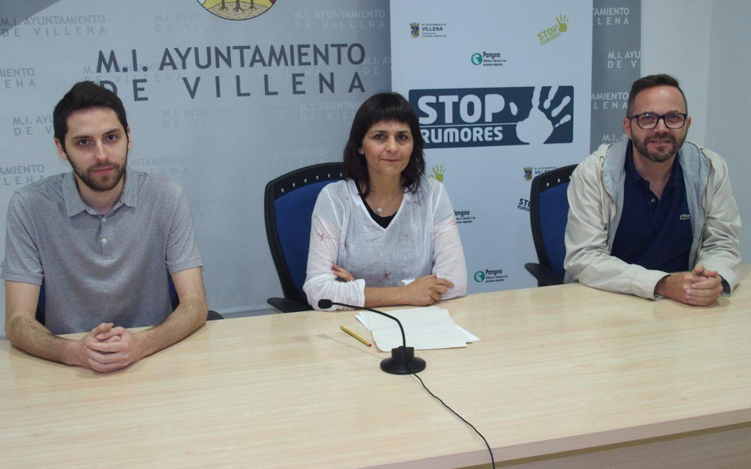 Más de 600 estudiantes de Villena participan en el programa Stop Rumores para desmontar mitos sobre la inmigración