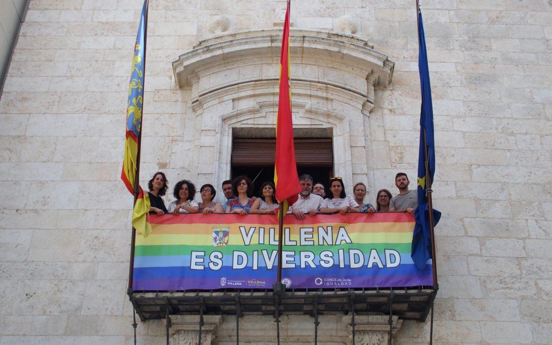 Villena se une al Día del Orgullo LGTBIQ 2019