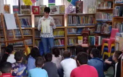 Los alumnos y alumnas de 5º de primaria finalizan la actividad del Triviblioteca.