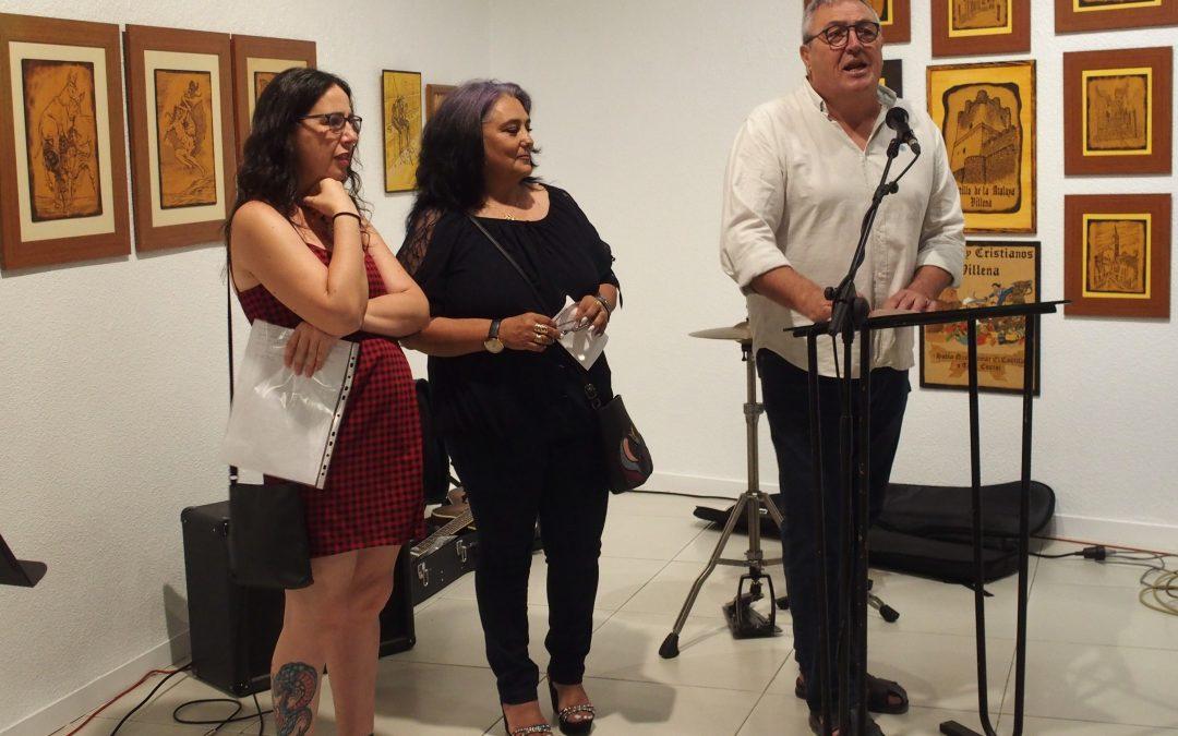 Cine en pintura como homenaje a Javier Santana