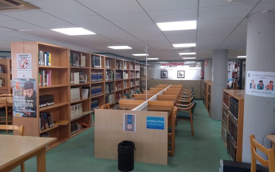 Reapertura de la segunda planta de la Biblioteca Miguel Hernández