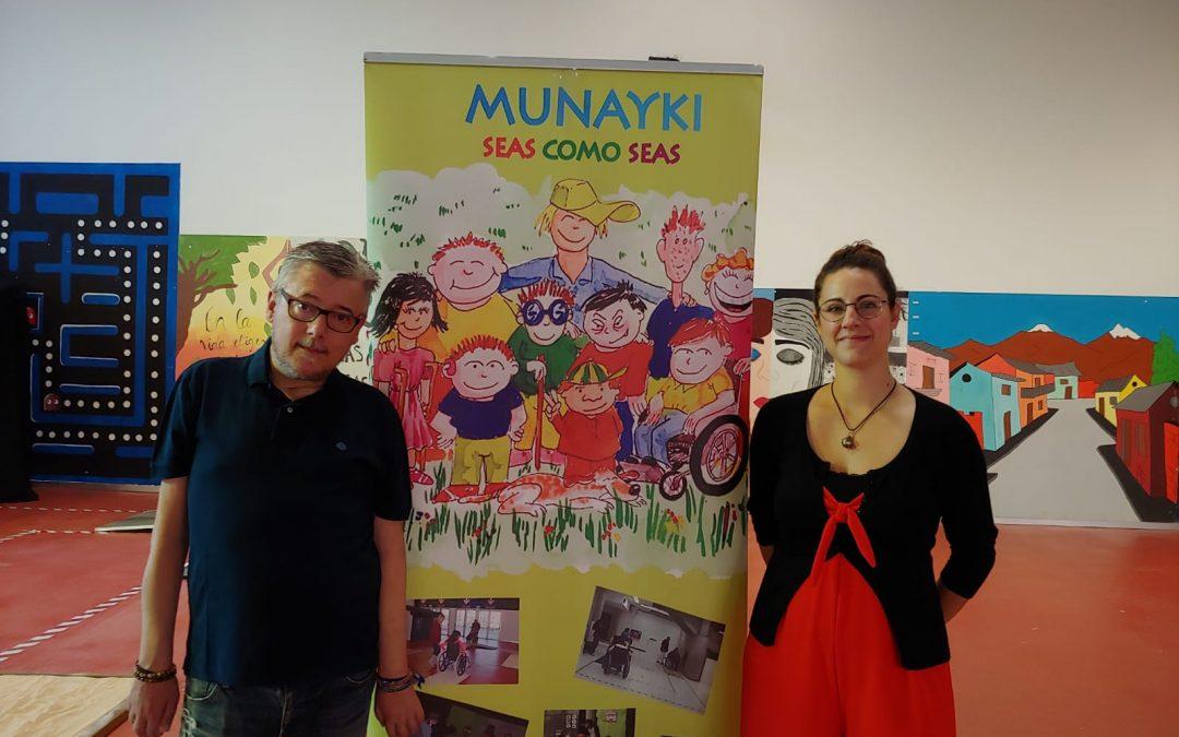 Proyecto Munayki para jóvenes en el Espacio Joven