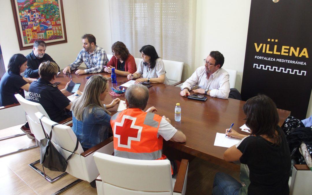 Villena mantiene la alerta roja por temporal para el viernes 13 de septiembre