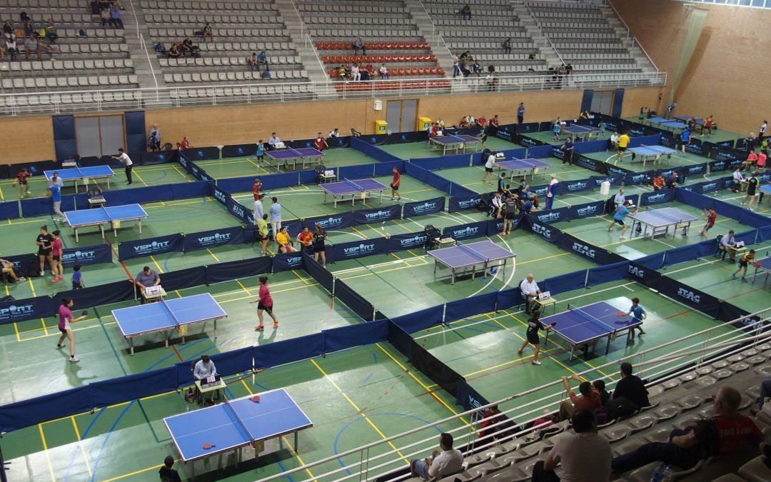 Villena acoge el torneo clasificatorio para el Campeonato de España de Tenis de Mesa