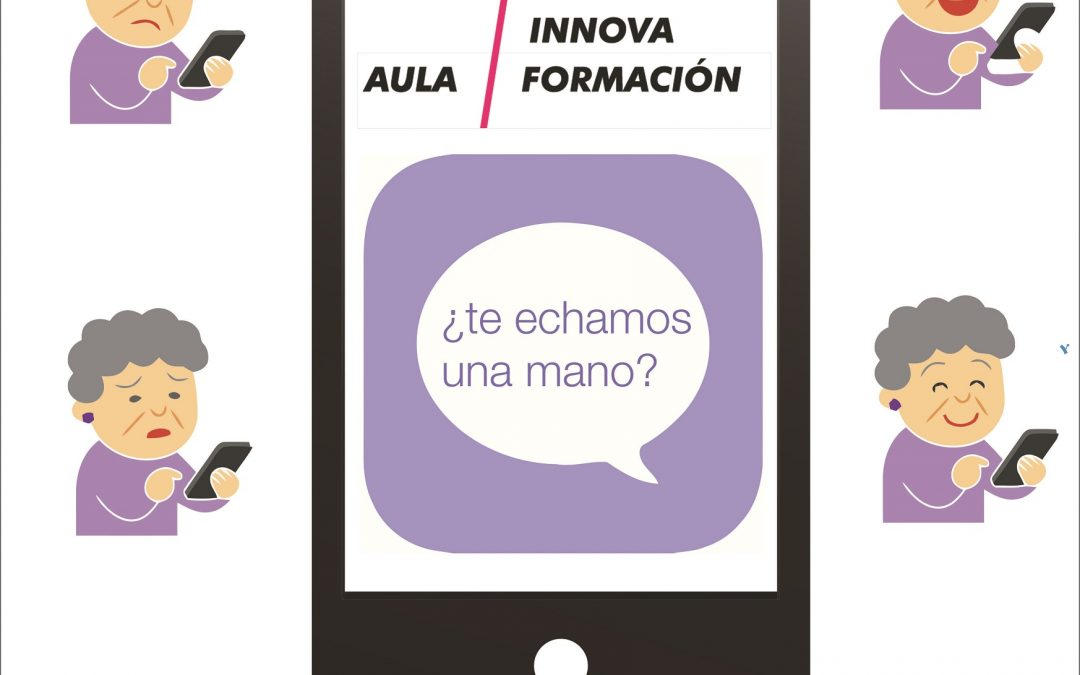 """Taller gratuito """"Aprende a usar tu teléfono móvil"""" con Aula Innova Formación"""