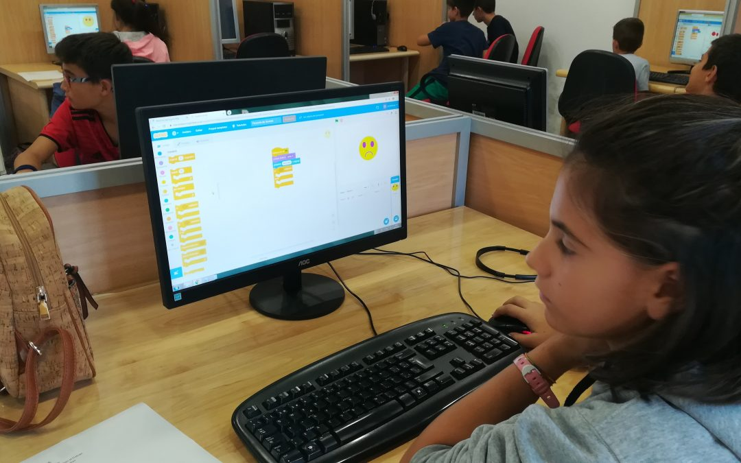 Aula Innova participa en la celebración de la «Codeweek»