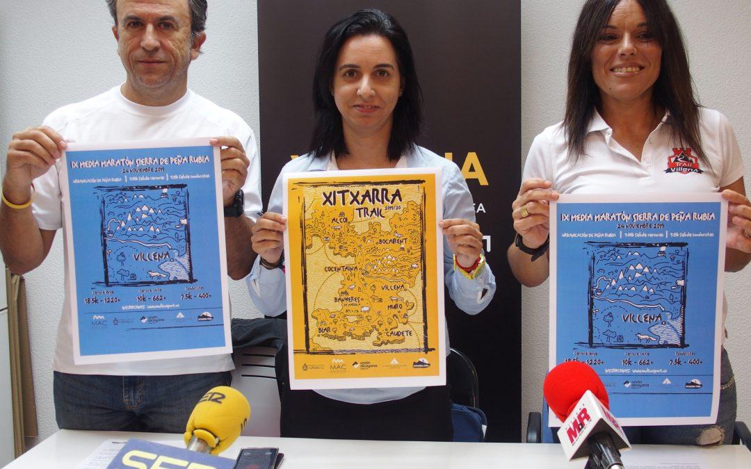 Media maratón de montaña en Peña Rubia