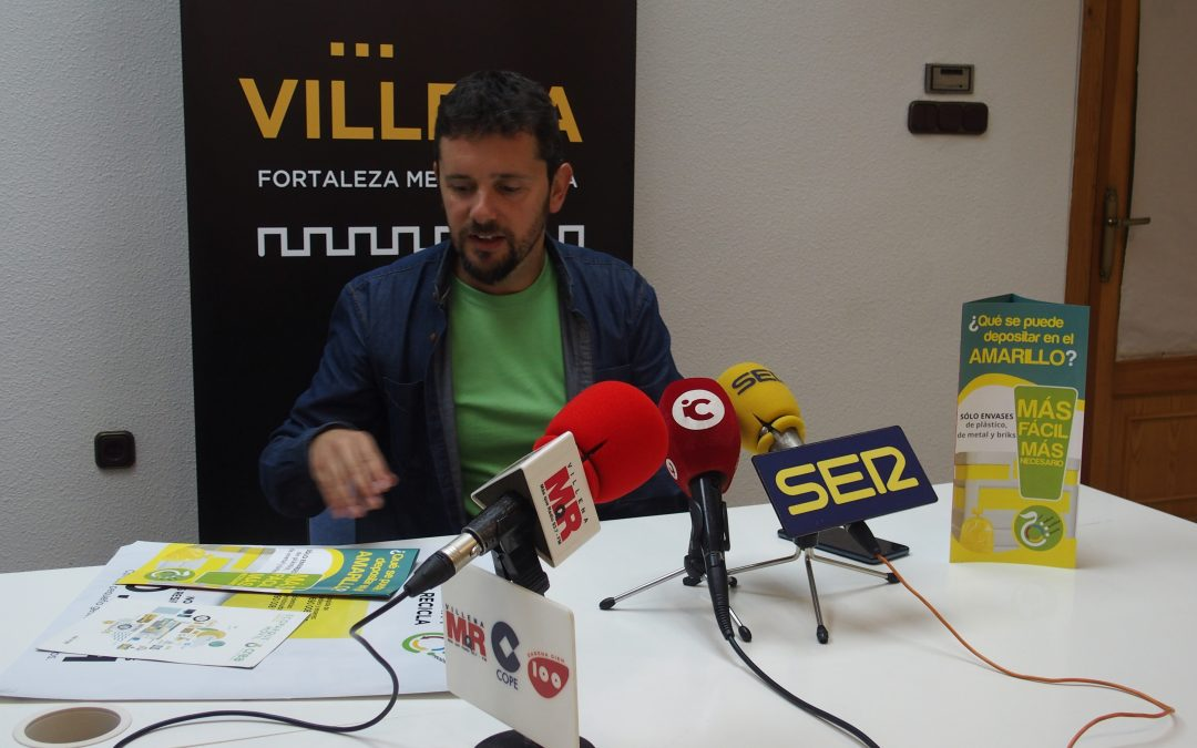 Los resultados de recogida selectiva de Villena  baten récord en 2019 en envases ligeros y papel