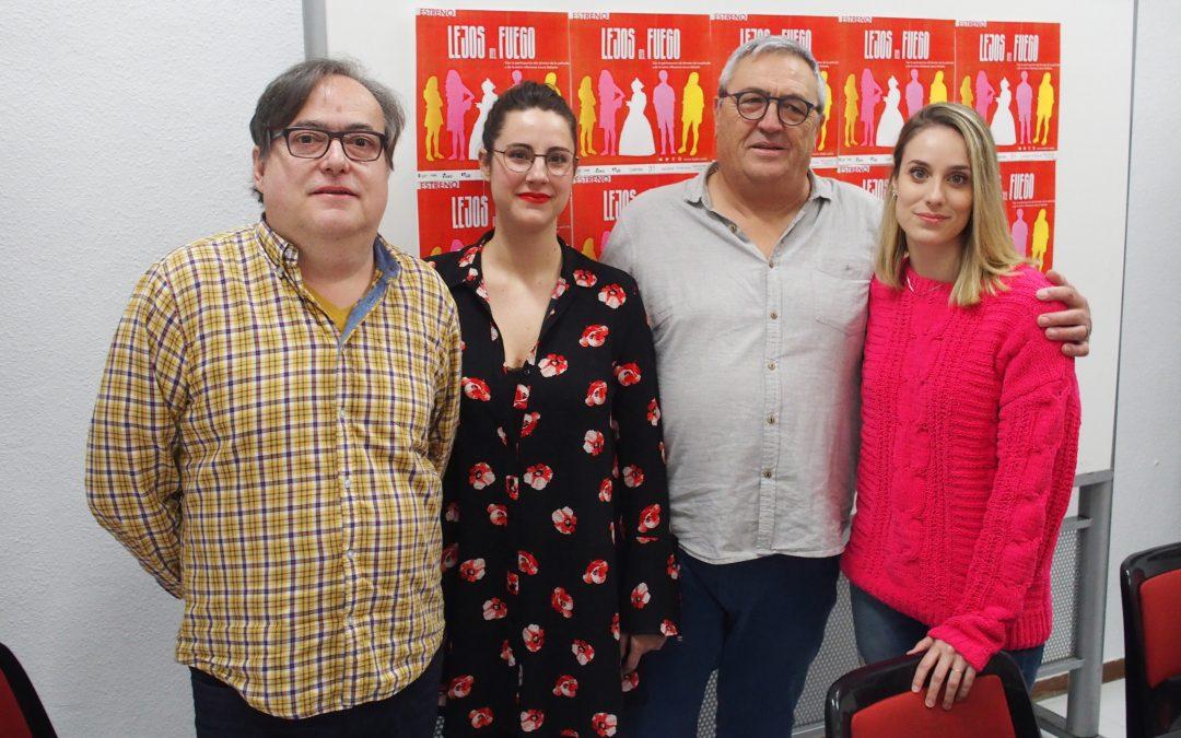 """La actriz villenense Laura Salcedo presenta en Villena """"Lejos del fuego"""""""