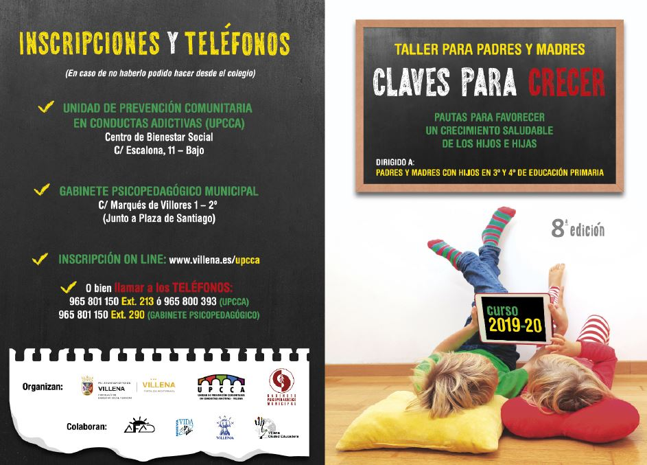 Cartel claves 2019 completo