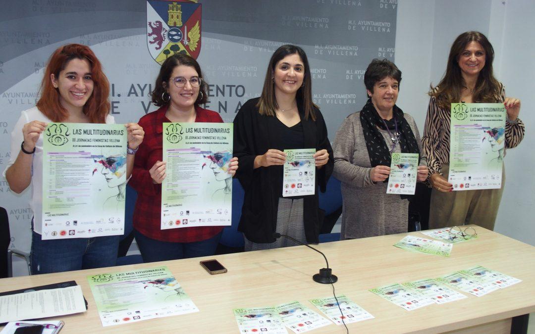 """Vuelve la jornada feminista """"Las Multitudinarias"""" a la Casa de Cultura"""