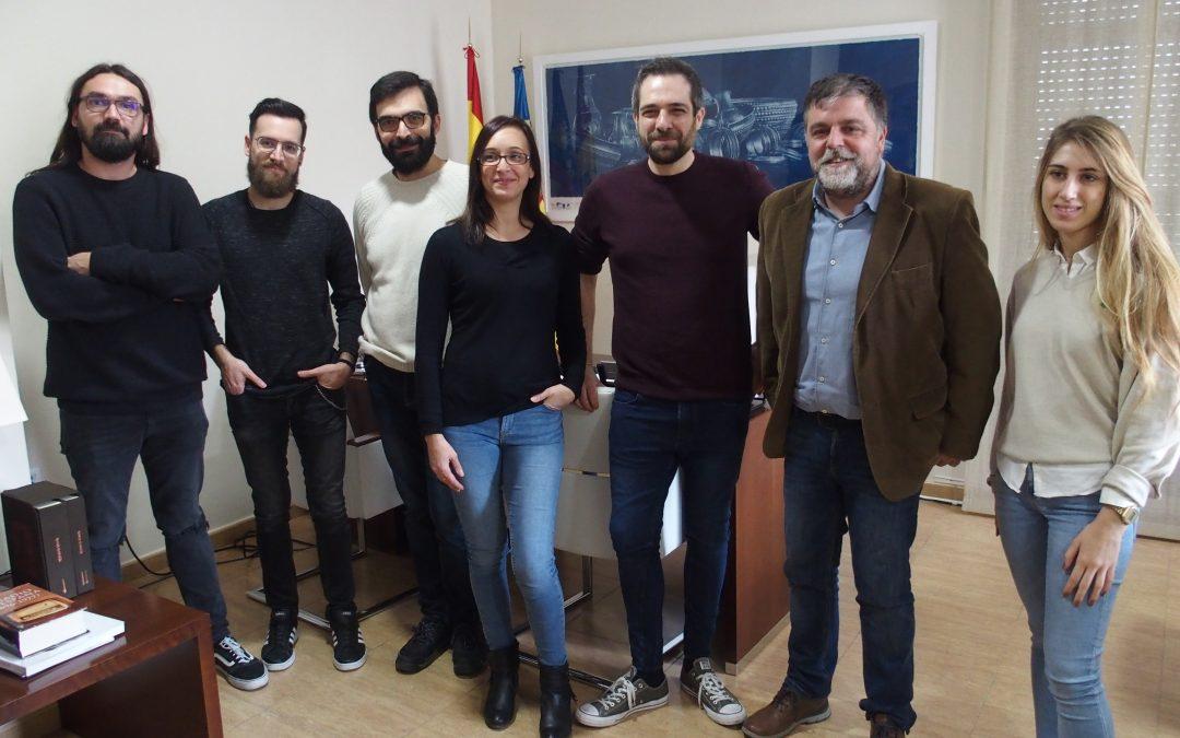 Reconocimiento a la empresa villenense que ha conseguido el Premio Audiovisual Valenciano 2019 al Mejor videojuego