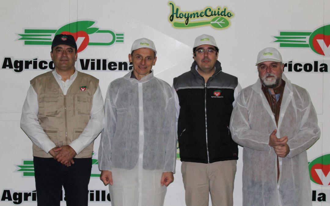 El Ministro Pedro Duque visita Agrícola Villena