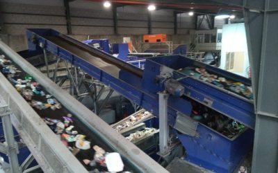 Visita a la planta de residuos de Elche