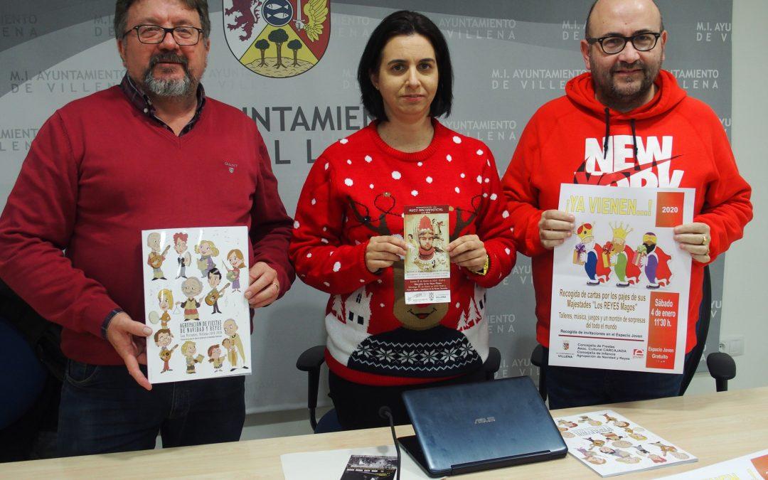 El día 24 de noviembre Papa Noel visita Villena
