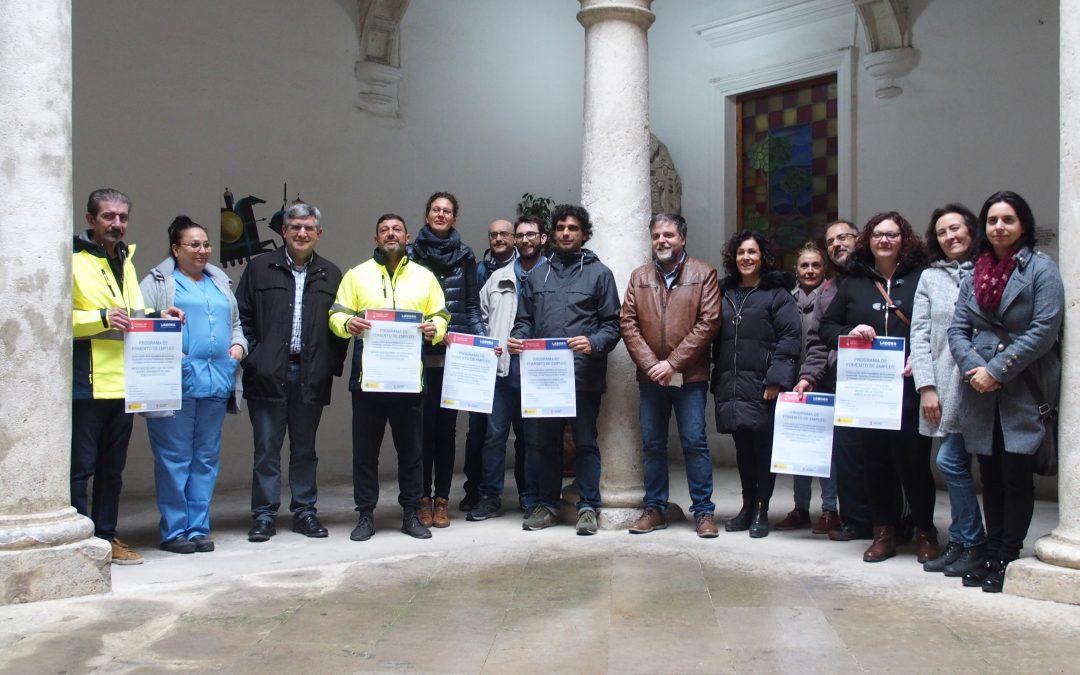 11 desempleados mayores de 30 años son contratados por el Ayuntamiento de Villena