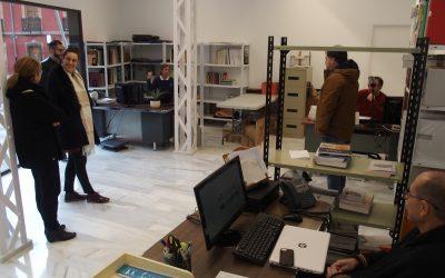 El personal del Museo se traslada a sus nuevas dependencias