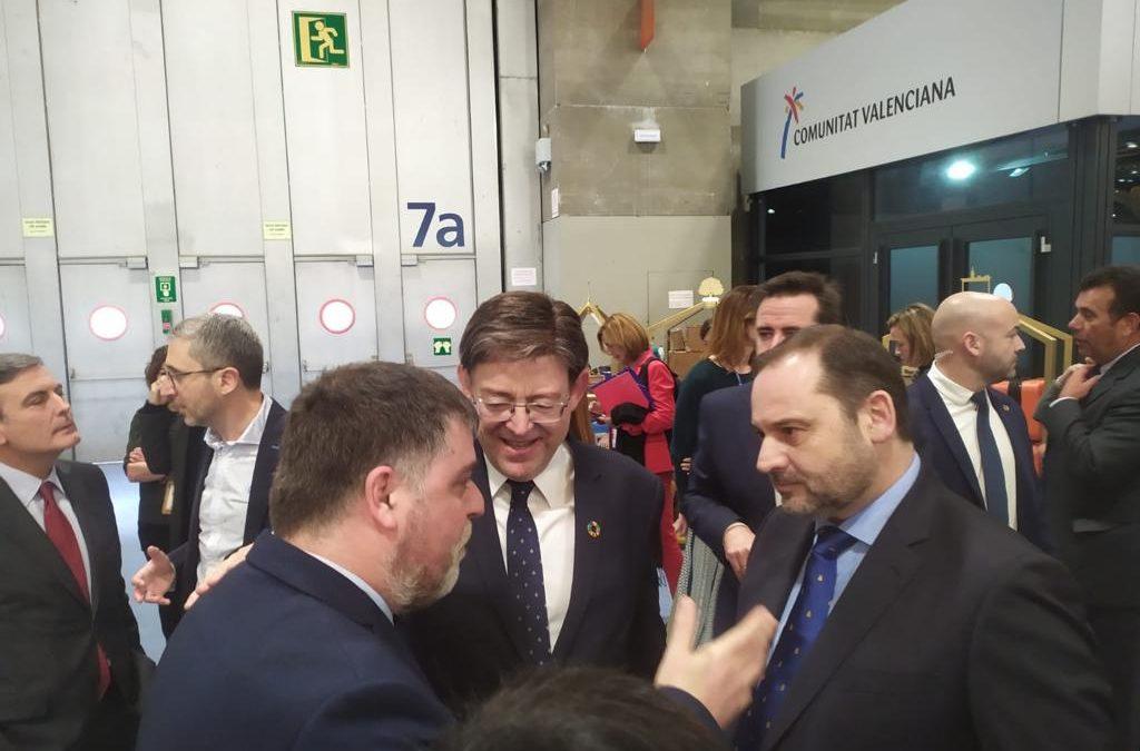 El Ministro Ábalos se interesa por los accesos a la estación AVE de Villena