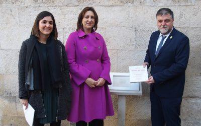 La Consellera de Participación homenajea a las víctimas del Holcausto en Villena