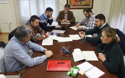 Junta de portavoces para presentar el borrador del Presupuesto Municipal