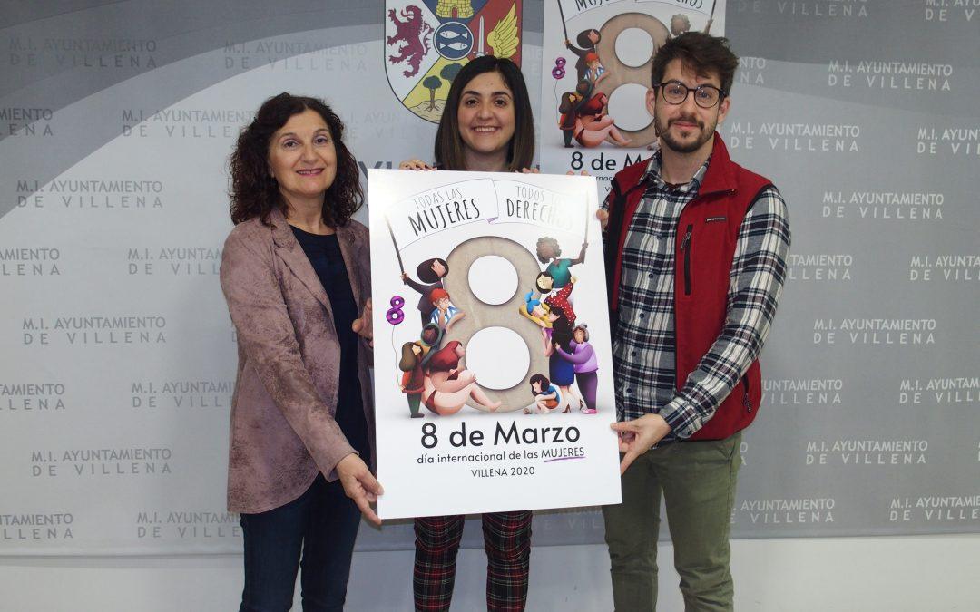 Cartel del 8 de marzo donde caben todas las mujeres
