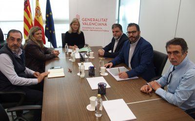 Reunión en Consellería por el nuevo juzgado en Villena