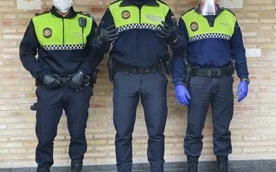 Agradecimiento de la Policía Local