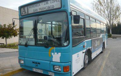 Cambio de horario en el servicio de autobús urbano