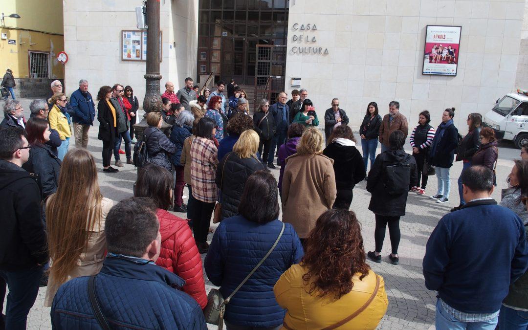 Villena se une frente al último asesinato machista en nuestra región