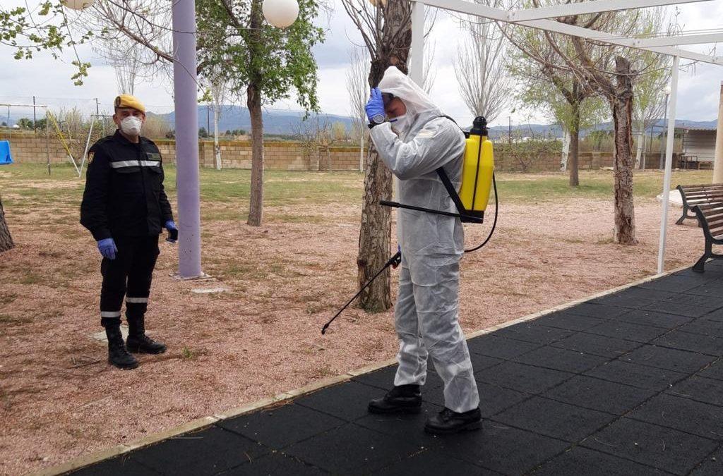 Continúan las labores de prevención de la UME en Villena