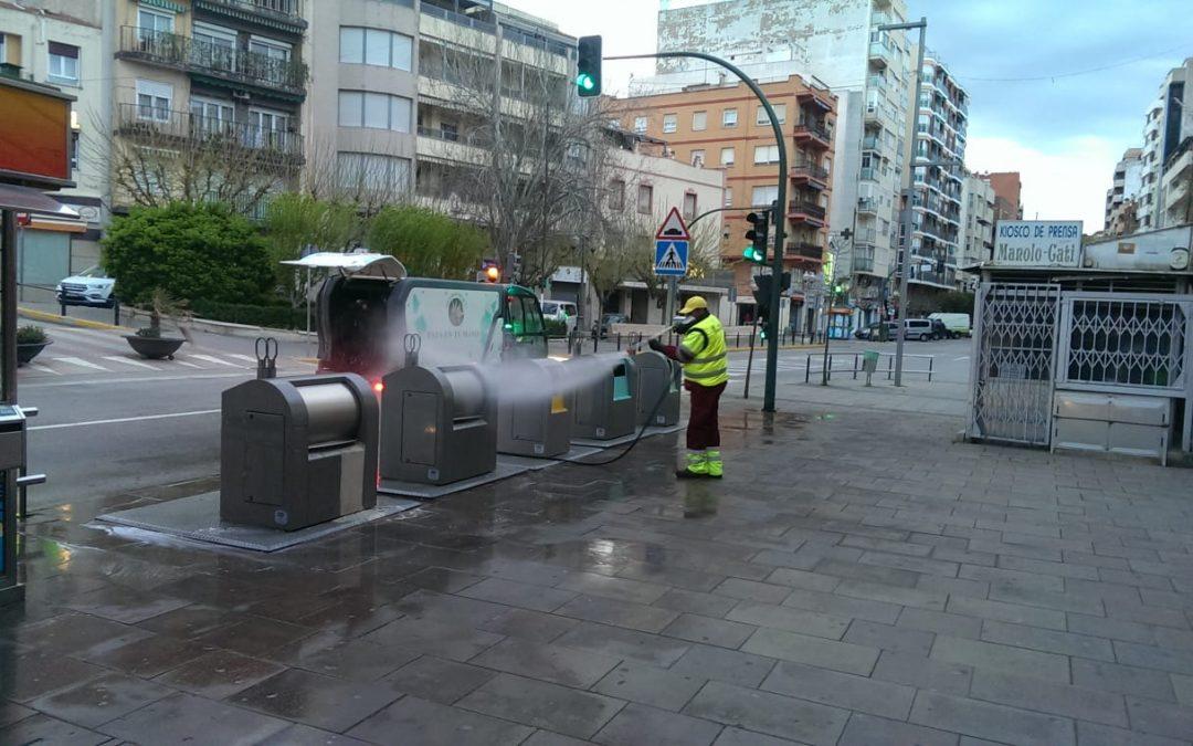 Nuevas medidas de desinfección en Villena