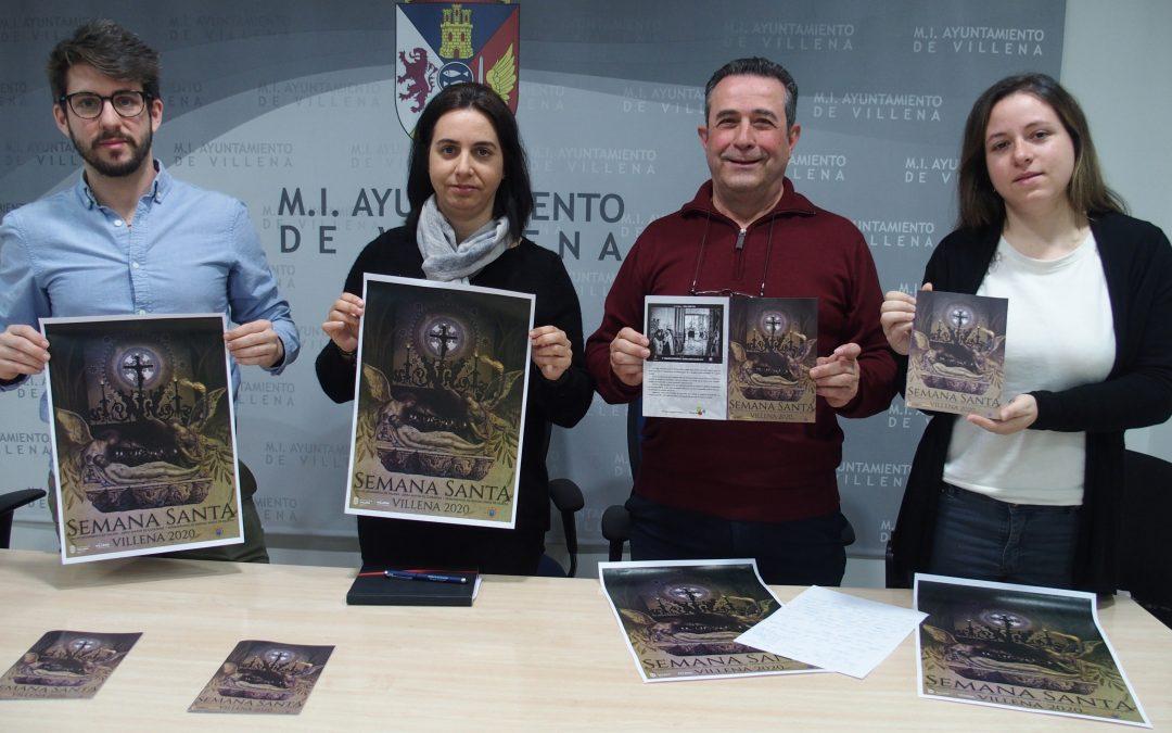 El cartel de Semana Santa recoge elementos del patrimonio local
