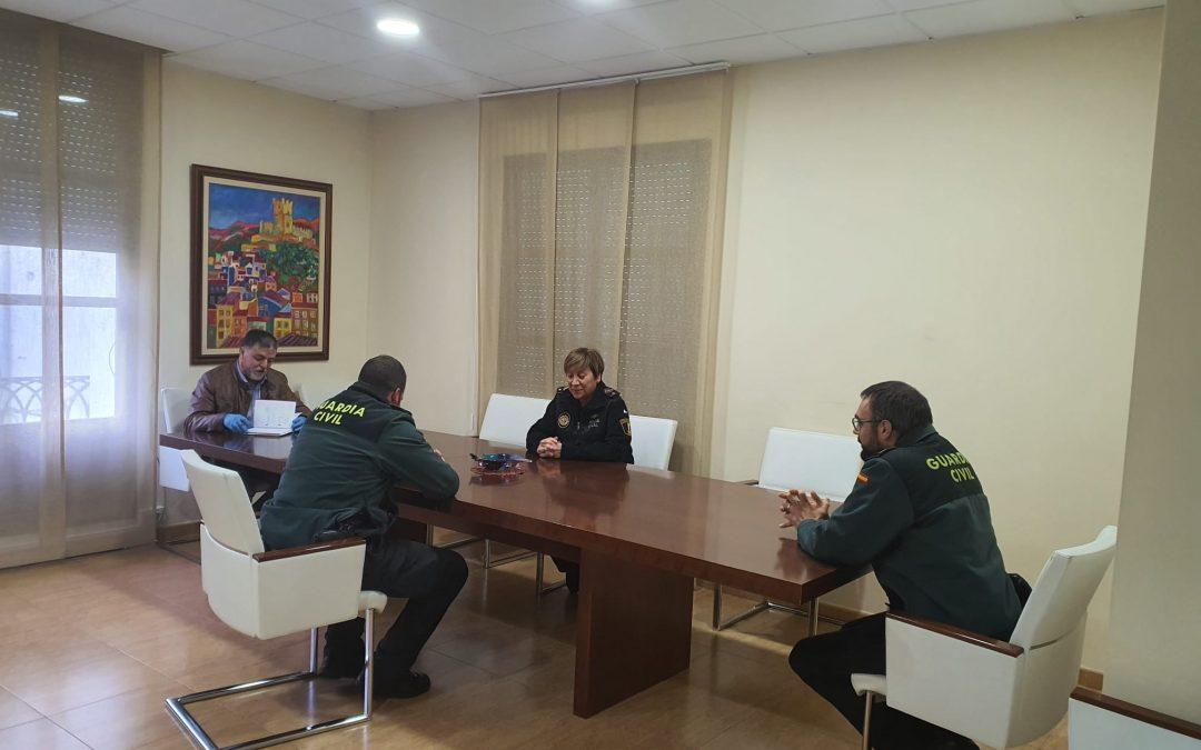 La Comisión de Coordinación para la Seguridad COVID-19 se reúne en Alcaldía