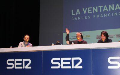 'La Ventana' de Carles Francino se hace eco de la campaña #yoleoencasa impulsada por el Ayuntamiento de Villena